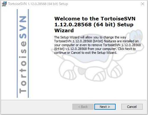 SVN_インストール画面1