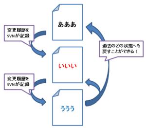 SVNのイメージ図