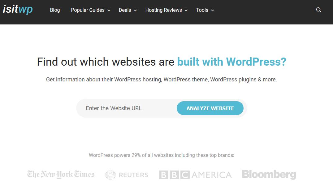 対象サイトが WordPress で作成されているかを判別してくれるサービス「isitwp」